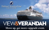 Holland america upgrade event
